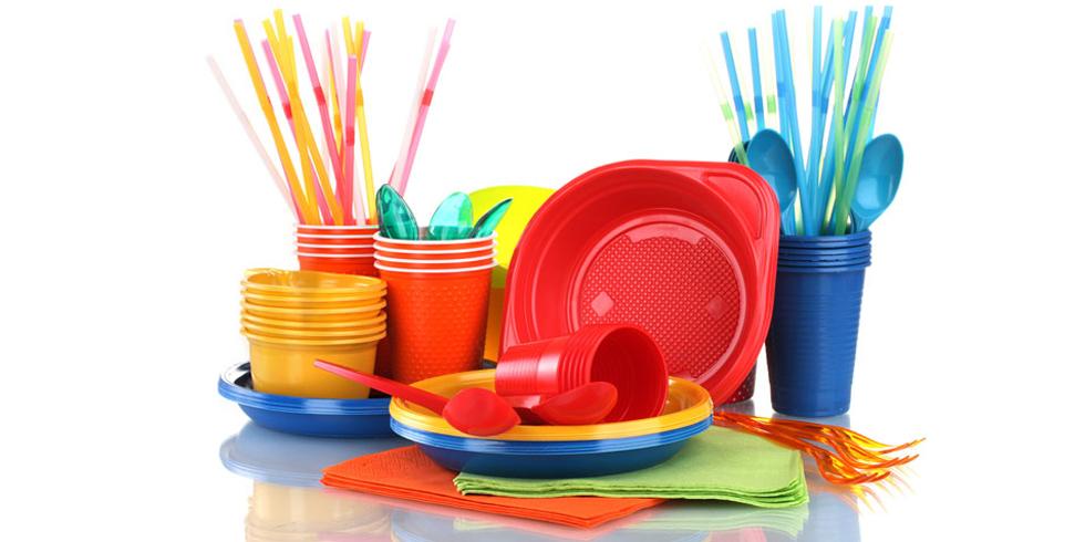 Упаковочный материал для вашей посуды.  Одноразовая посуда